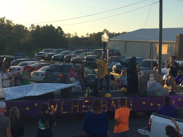 WCHS Band Float